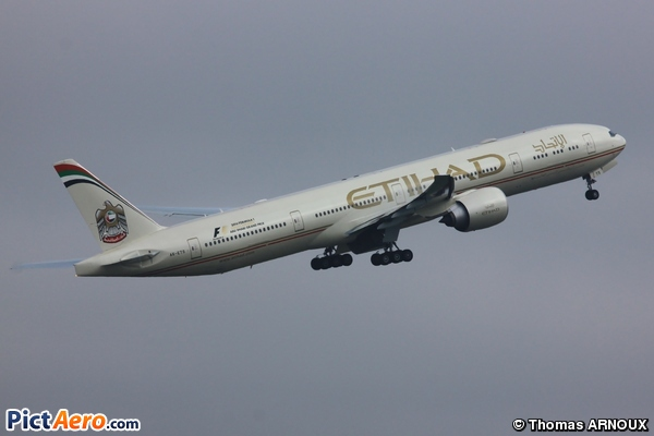 Boeing 777-3FX/ER (Etihad Airways)