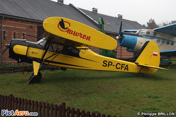 PZL-Okecie PZL-101 Gawron (Muzeum Narodowe Rolnictwa)