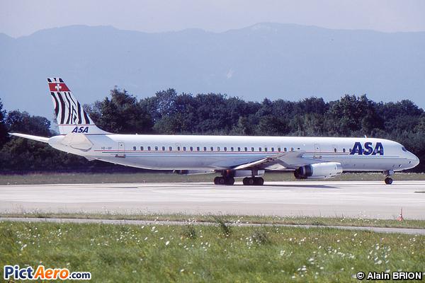 Douglas DC-8-63 (African Safari Airways)