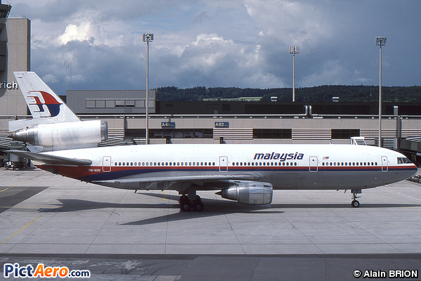 McDonnell Douglas DC-10-30 (Malaysia Airlines)