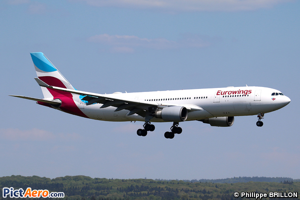 Airbus A330-203 (Eurowings)