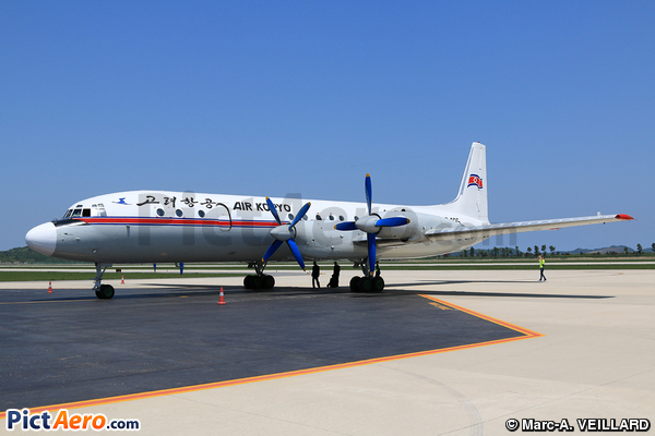Iliouchine Il-18D (Air Koryo)