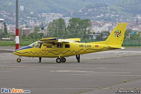 Vulcanair p-68c (Swiss Flight Services)