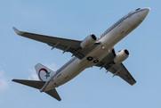 Boeing 737-8B6 (CN-ROY)