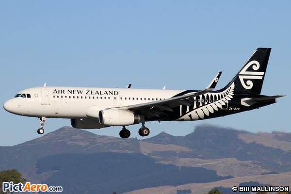 Airbus A320-232(WL) (Air New Zealand)