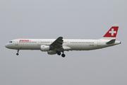Airbus A321-111 (HB-IOD)