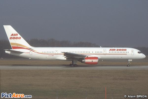 Boeing 757-236 (Air 2000)