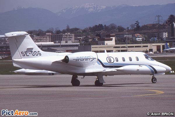 Learjet 35A (Swedair)