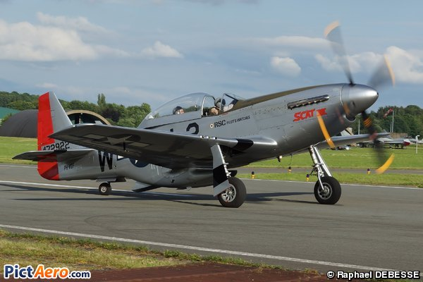 North American TF-51D Mustang (Private)
