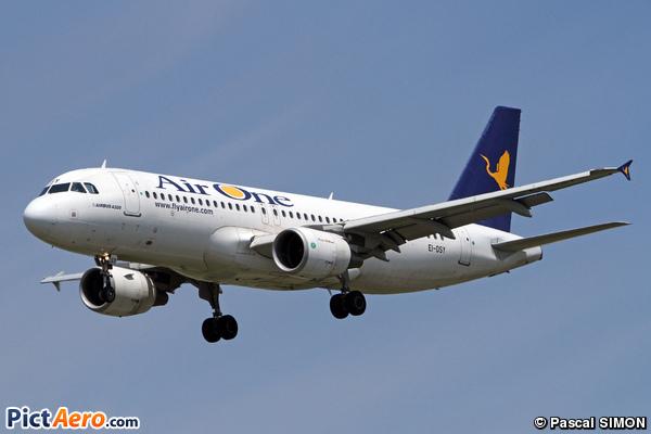 Airbus A320-216/WL (Air One)