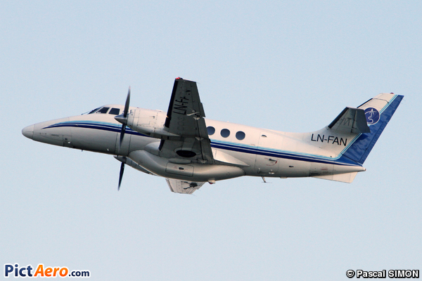 British Aerospace Jetstream Series 3200 Model 32. (AIS Airlines)