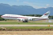 Boeing 747-8Z5/BBJ (A6-PFA)