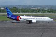 Boeing 737-8Q8 (WL) (PK-CMI)