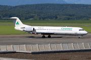 Fokker 100 (F-28-0100) (YR-FKB)