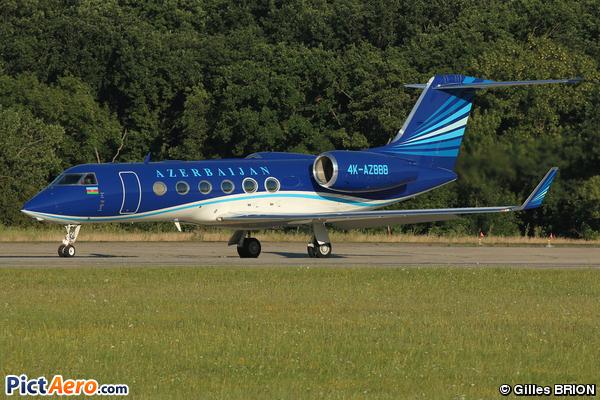 Gulfstream G450 (Silk Way Airlines)