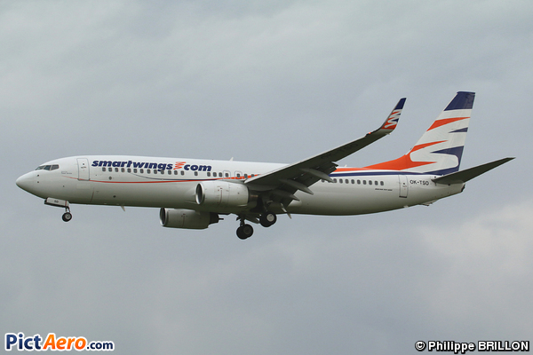 Boeing 737-8GK (Smart Wings)