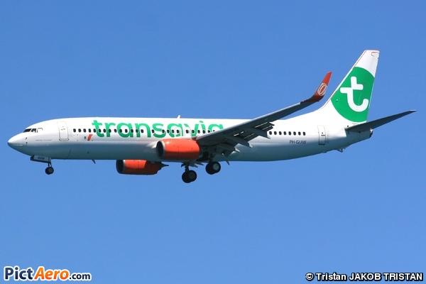 Boeing 737-8EH (Transavia)
