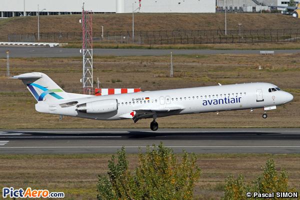 Fokker 100 (F-28-0100) (Avanti Air)