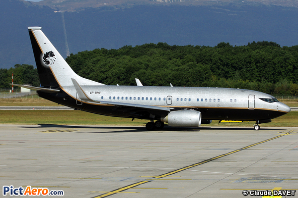 Boeing 737-7BC/BBJ (Jet Aviation Business Jets AG)
