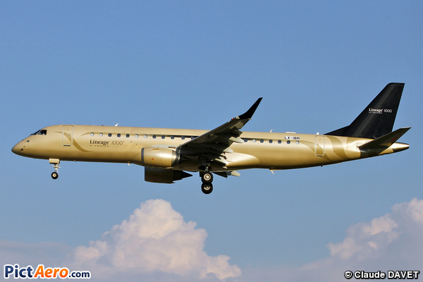 Embraer Lineage 1000 ERJ-190-100-ECJ (Global Jet Luxembourg)
