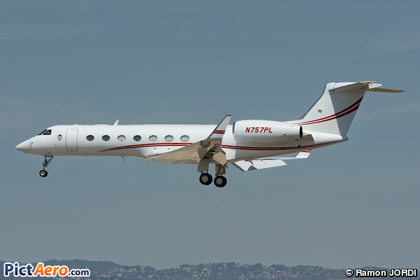 Gulfstream Aerospace G-V SP (Privat)