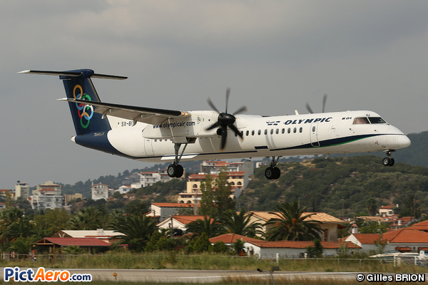 DHC-8-402Q (Olympic Air)