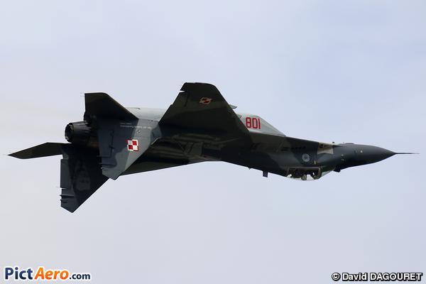 Mikoyan-Gurevich MiG-29A (9-12A) (Poland - Air Force)