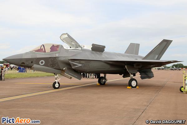 Lockheed Martin F-35 Lightning II (UK- AIR FORCE)