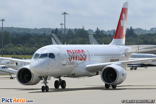 Bombardier CSeries CS100 (BD-500-1A10) (Bombardier Aerospace)