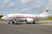 Boeing 737-7E0/BBJ (A6-HRS)