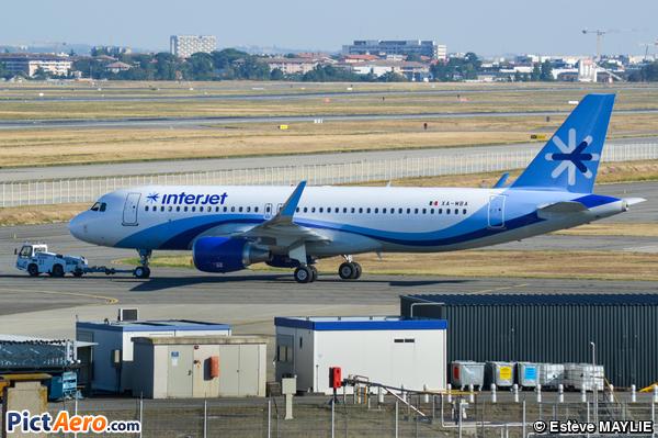 Airbus A320-214/WL  (Interjet)