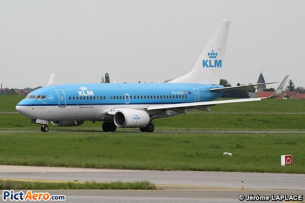 Boeing 737-7K2/WL (KLM Royal Dutch Airlines)