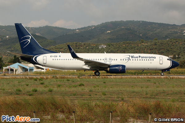 Boeing 737-8AS/WL (Blue Panorama Airlines)