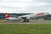Airbus A340-313X (HB-JMM)
