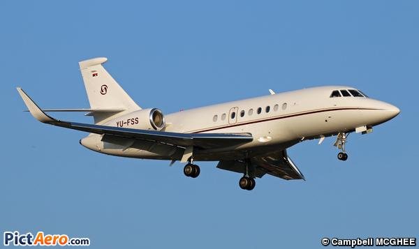 Dassault Falcon 2000LXS (Prince Aviation)