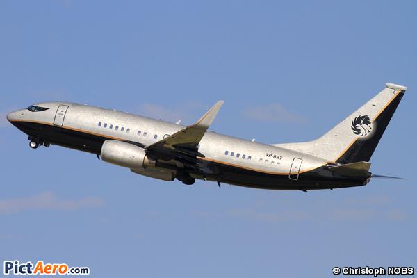 Boeing 737-7BC/BBJ (Jet Aviation Business Jets AG)