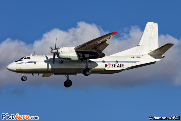 Antonov An-26 Curl (Rose Air)