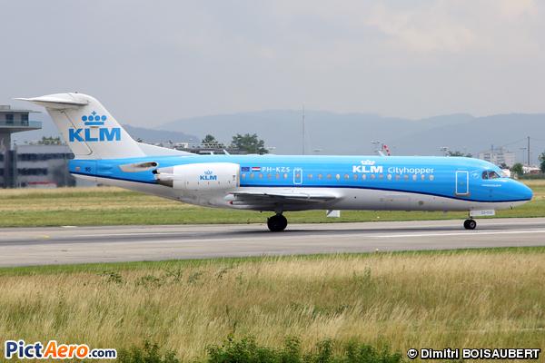 Fokker 70 (F-28-0070) (KLM Cityhopper)