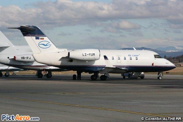 Canadair CL-600-1A11 Challenger (Air Lazur)