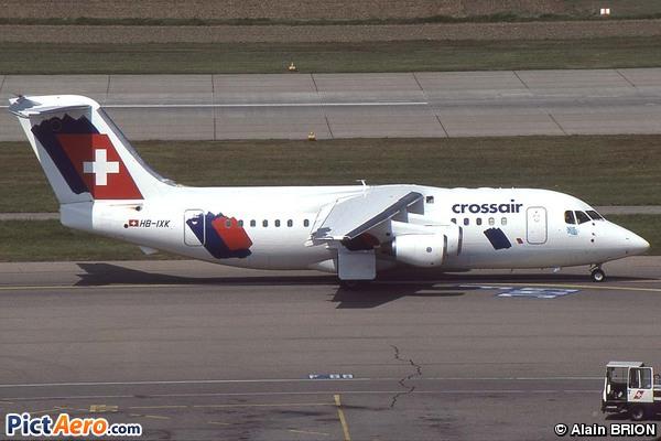 British Aerospace Avro 146-RJ85  (Crossair)
