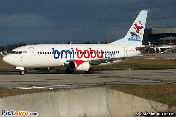 Boeing 737-3Q8 (bmibaby)