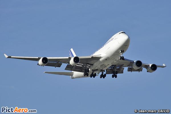 Boeing 747-428F/ER/SCD (Air France Cargo)