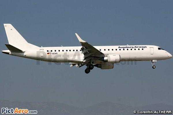Embraer ERJ-190-100LR 190LR  (Augsburg Airways)
