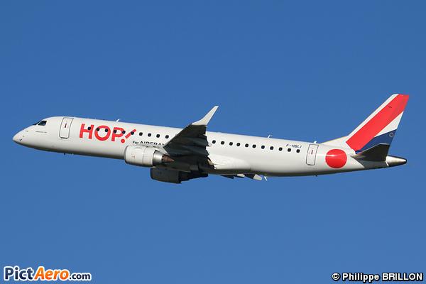 Embraer ERJ-190-100LR 190LR  (HOP!)