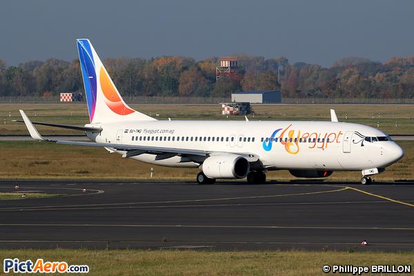 Boeing 737-86J/WL (FlyEgypt)