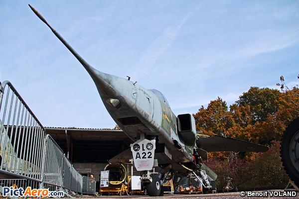 Sepecat Jaguar A (Pôle Aéronautique d'Avord)