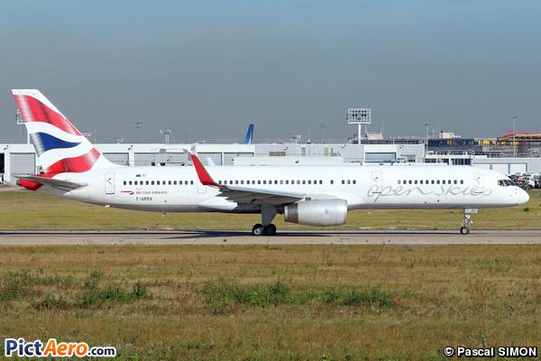 Boeing 757-236/WL (Openskies)