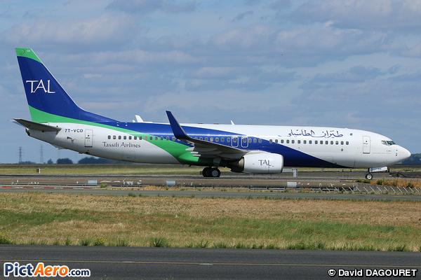 Boeing 737-82Q (Tassili Airlines)