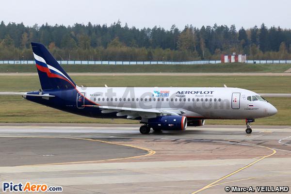 Superjet 100-95B (Aeroflot)