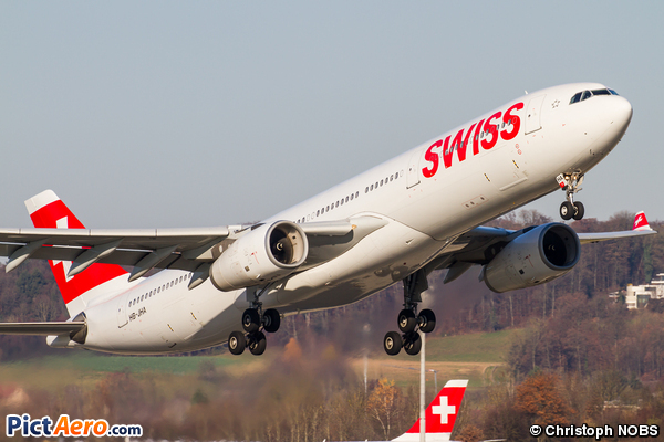 Airbus A330-343X (Swiss International Air Lines)